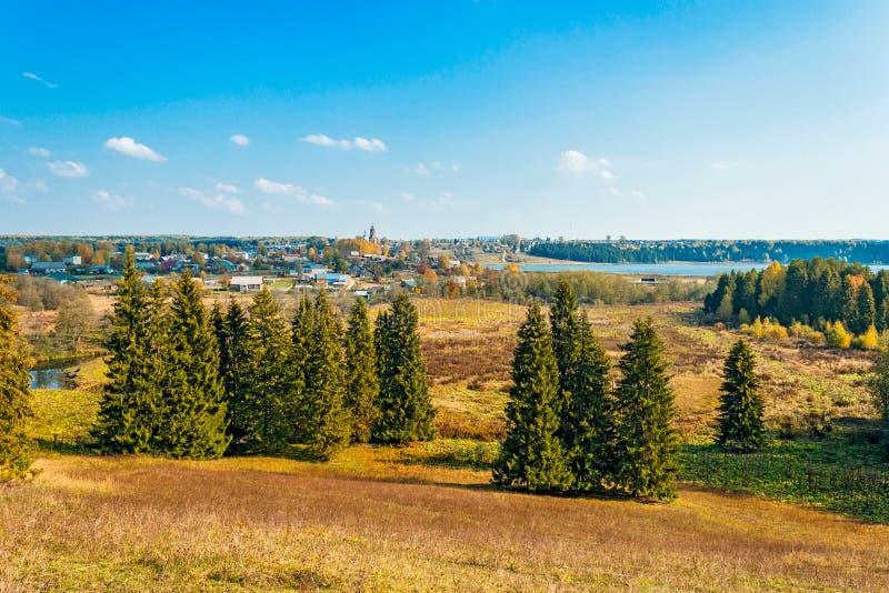 Ρωσικό χωριό στοκ εικόνες με δικαίωμα ελεύθερης χρήσης