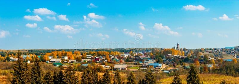 Ρωσικό χωριό στοκ φωτογραφίες