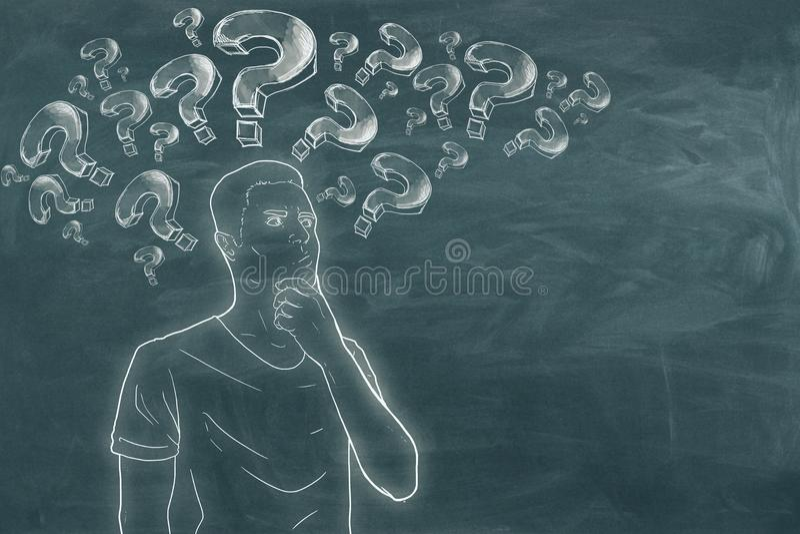 Ρωτήστε και σκεφτείτε την έννοια απεικόνιση αποθεμάτων