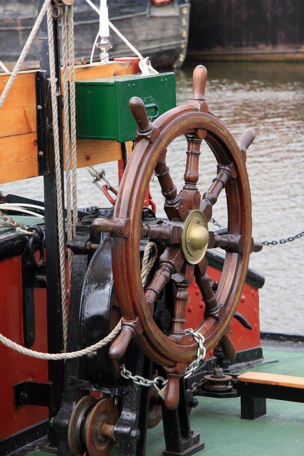 ρόδα σκαφών στοκ φωτογραφία