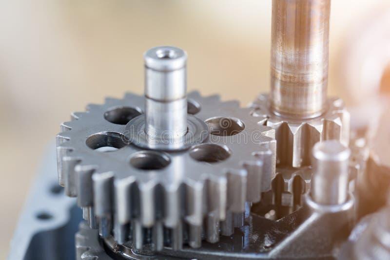 Ρόδες εργαλείων μηχανών, βιομηχανικό υπόβαθρο, στοκ φωτογραφία με δικαίωμα ελεύθερης χρήσης
