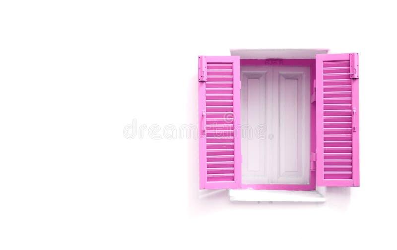 Ρόδινα ελληνικά Windows ύφους στοκ εικόνα
