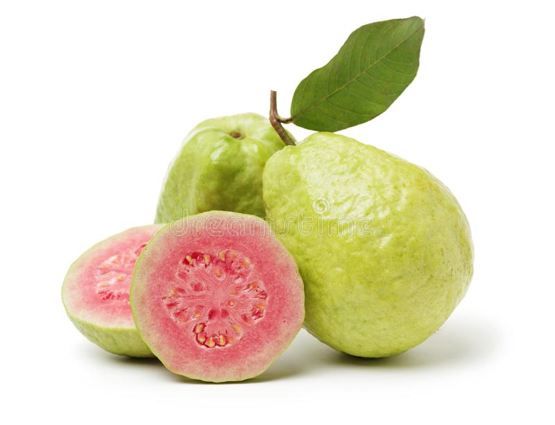 Ρόδινα φρούτα γκοϋαβών στοκ εικόνα
