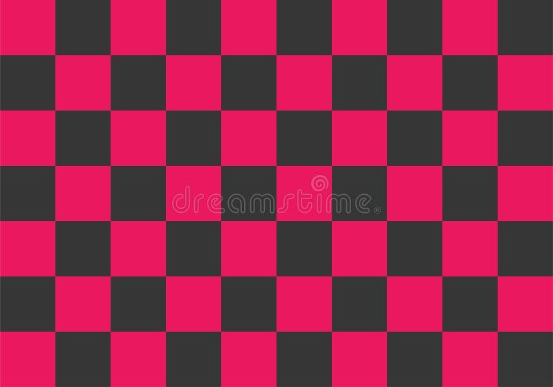 Ρόδινη και μαύρη διανυσματική απεικόνιση υποβάθρου πινάκων ελεγκτών απεικόνιση αποθεμάτων