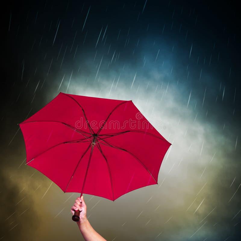 ρόδινη ομπρέλα στοκ φωτογραφία με δικαίωμα ελεύθερης χρήσης