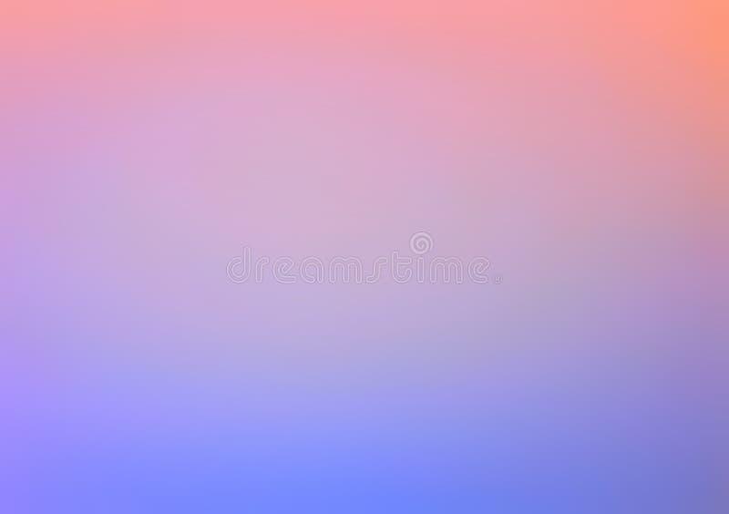 Ρόδινος και μπλε οριζόντιος εξασθενίζει στοκ εικόνα