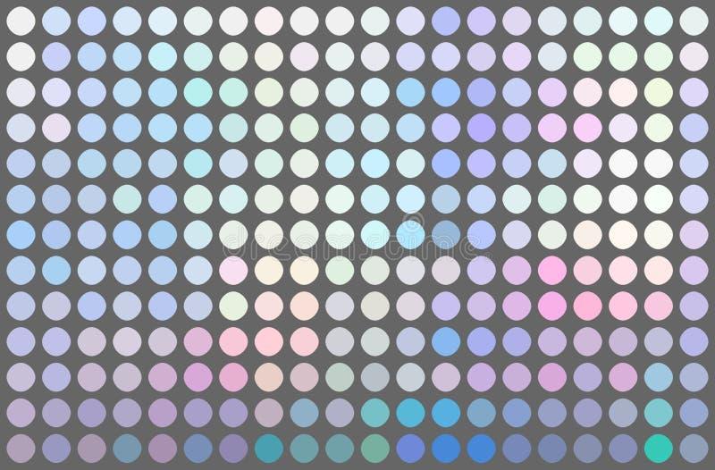 Ρόδινο ιώδες μπλε σχέδιο μωσαϊκών ολογραμμάτων κλίσης μωσαϊκών Ελαφρύ ιριδίζον gleaming υπόβαθρο απεικόνιση αποθεμάτων