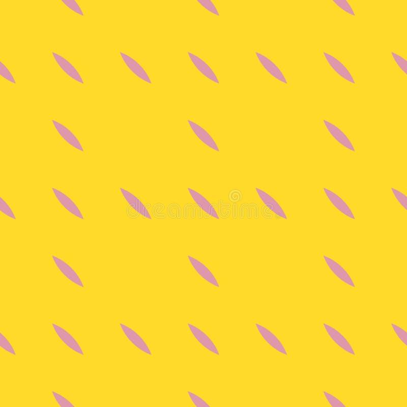 Ρόδινο και κίτρινο γεωμετρικό άνευ ραφής σχέδιο Απλή ελάχιστη αφηρημένη σύσταση απεικόνιση αποθεμάτων