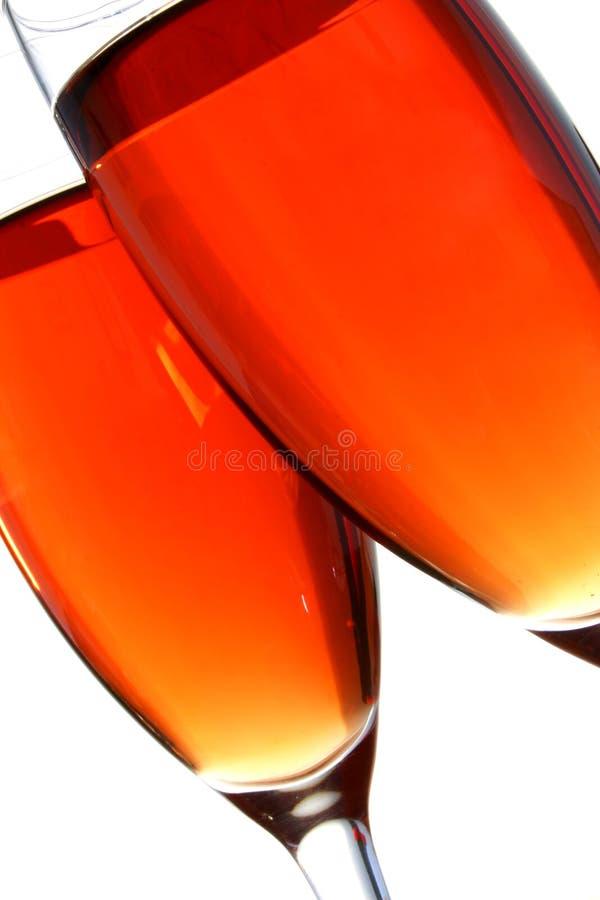 ρόδινο κρασί στοκ εικόνες