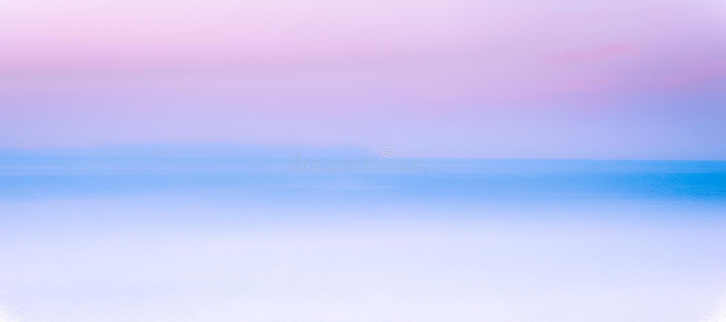Ρόδινο, μπλε, άσπρο αφηρημένο υπόβαθρο τοπίων στοκ φωτογραφίες