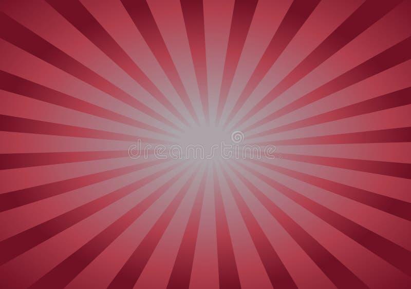 Ρόδινο υπόβαθρο με τις γραμμές που τρέχουν προς το κέντρο ελεύθερη απεικόνιση δικαιώματος