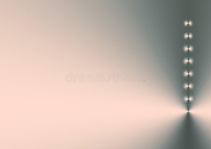 ρόδινο shimmer ασήμι διανυσματική απεικόνιση