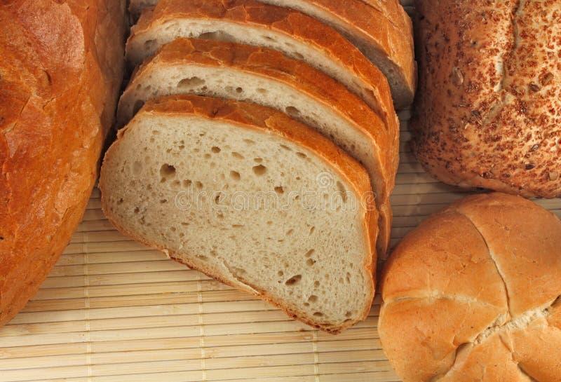 ρόλοι φραντζολών ψωμιού στοκ φωτογραφία