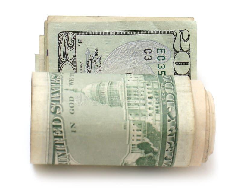 Download ρόλος είκοσι δολαρίων λ& στοκ εικόνα. εικόνα από εμβλήματα - 1535315