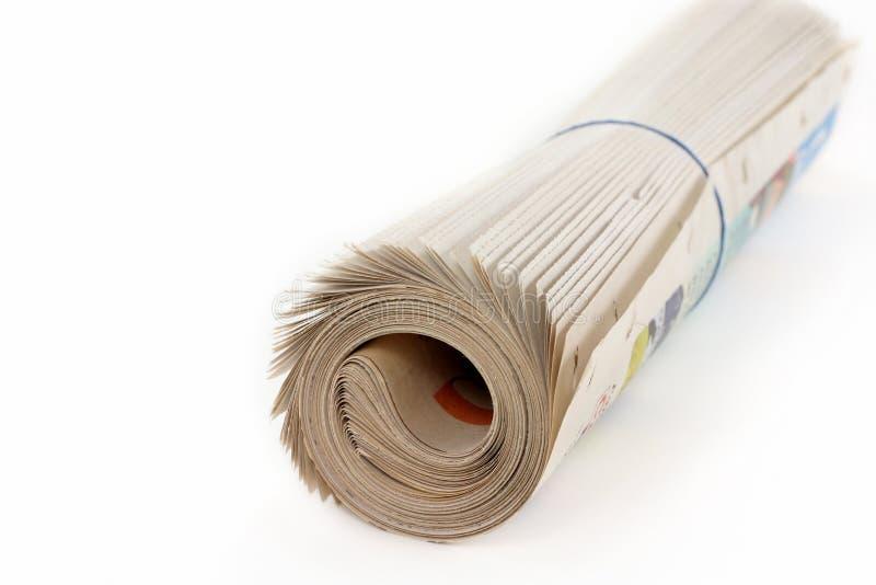 ρόλος εφημερίδων στοκ εικόνες