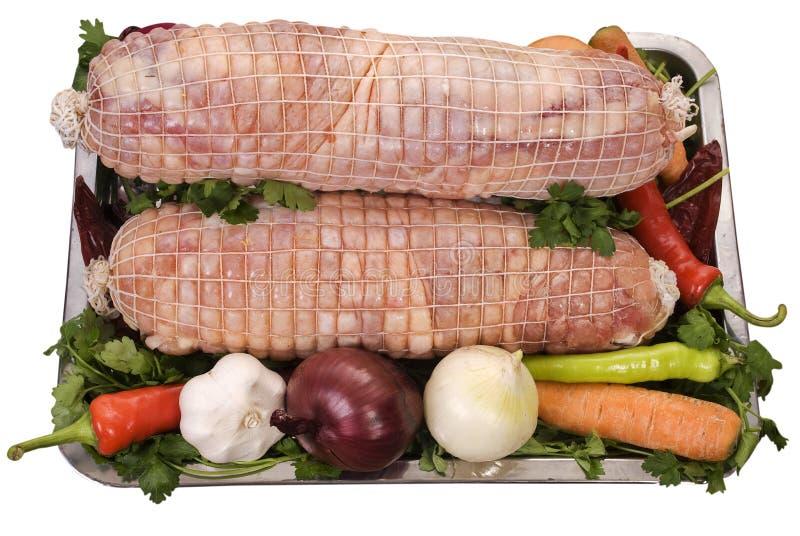 ρόλος κρέατος τελών στοκ φωτογραφίες με δικαίωμα ελεύθερης χρήσης