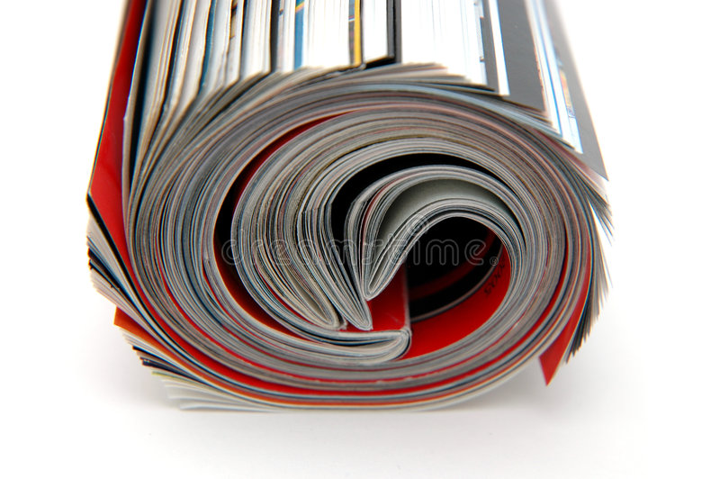 ρόλος περιοδικών στοκ φωτογραφία με δικαίωμα ελεύθερης χρήσης