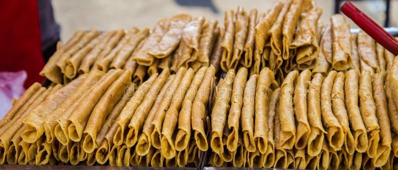 Ρόλος των κοχυλιών taco στοκ εικόνα