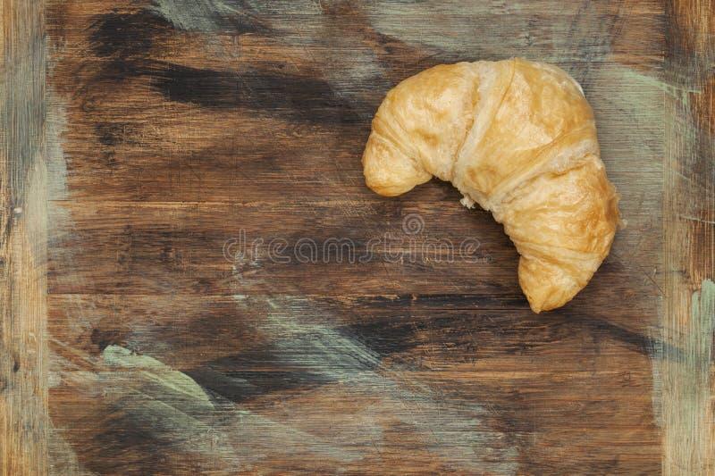 Ρόλος Croissant στοκ εικόνες
