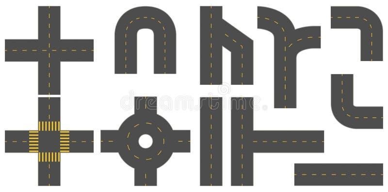 δρόμοι διανυσματική απεικόνιση