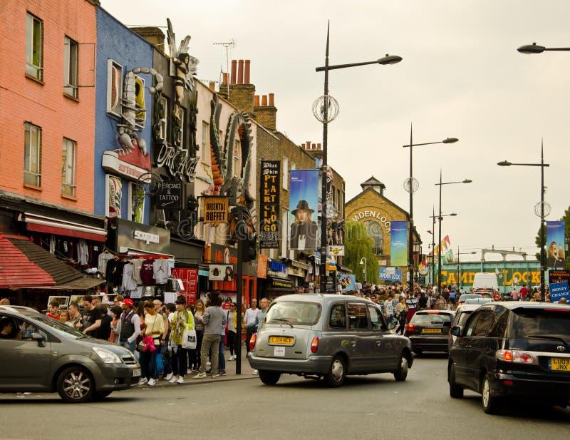 δρόμος portobello αγοράς του Λον στοκ εικόνες