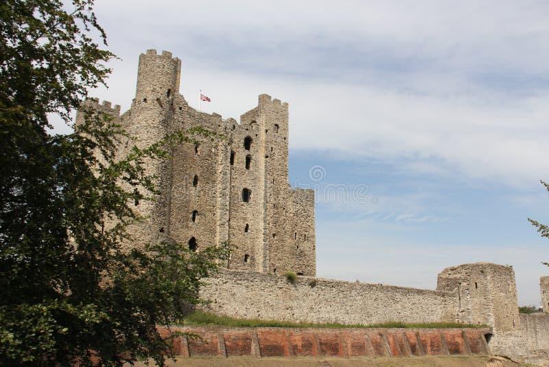 Ρότσεστερ Castle στοκ εικόνα