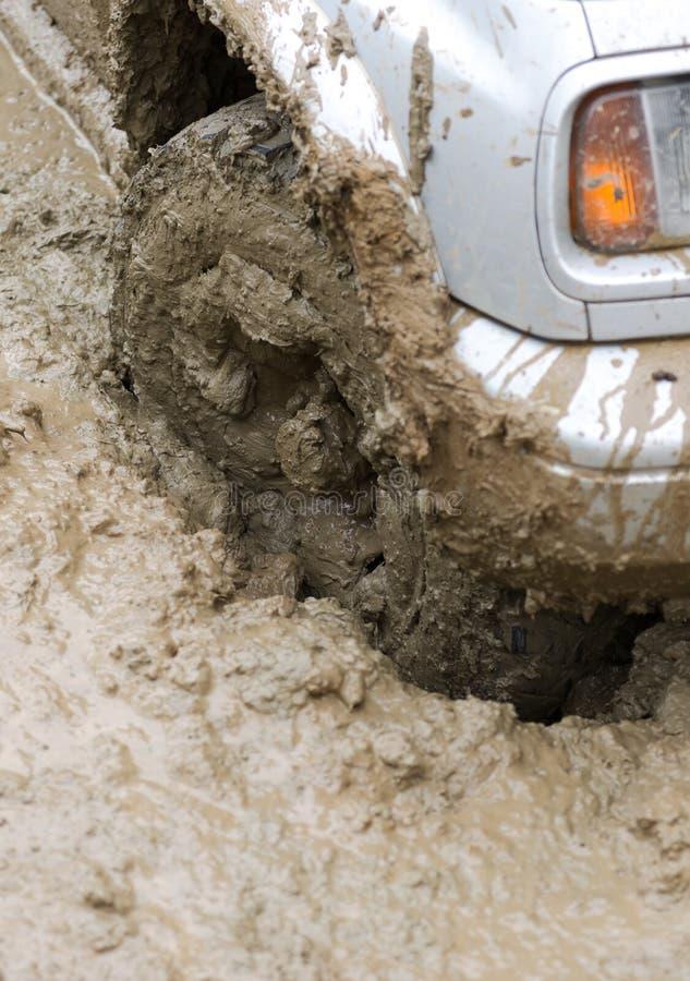 Ρόδα λάσπης στοκ φωτογραφία