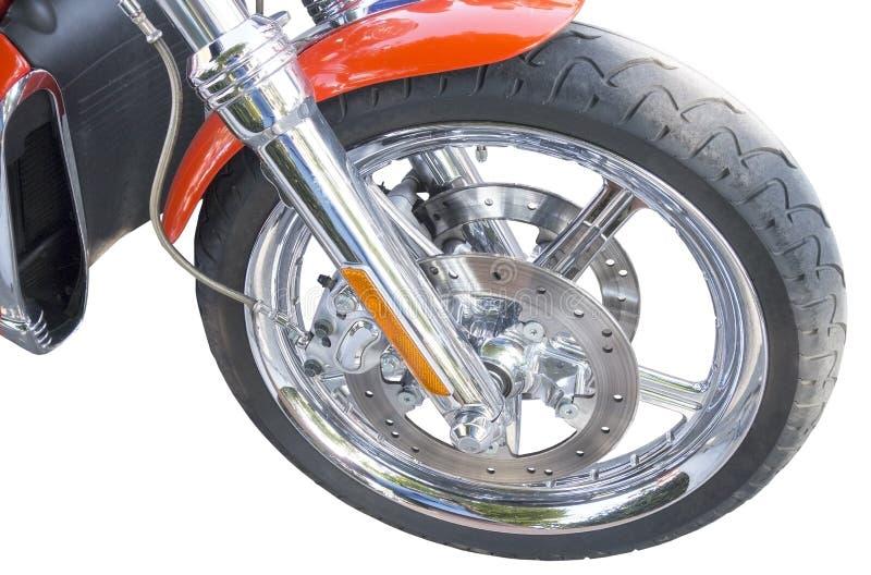Ρόδα της μοτοσικλέτας στοκ εικόνες