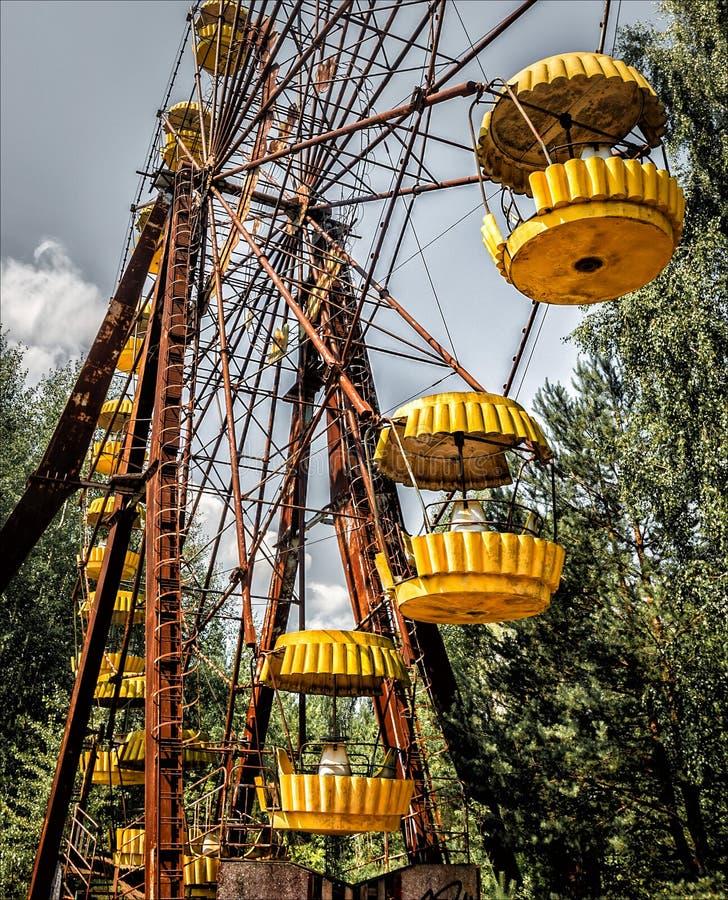 Ρόδα/Τσέρνομπιλ Ferris Pripyat στοκ φωτογραφία