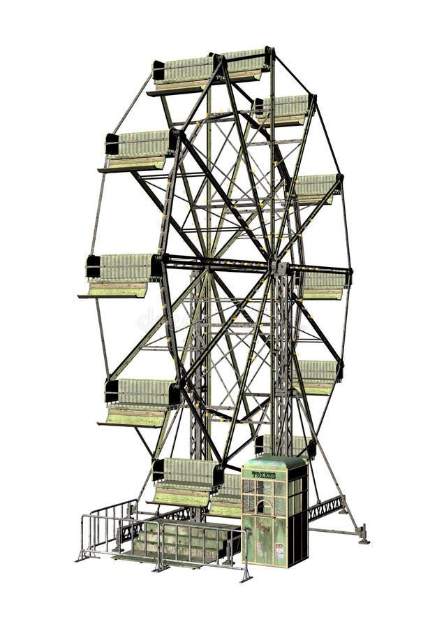 Ρόδα Ferris απεικόνιση αποθεμάτων