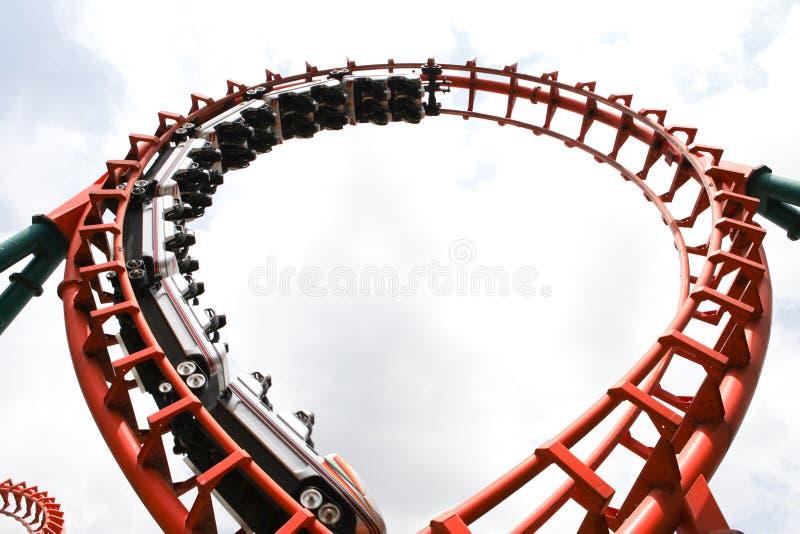 Ρόλερ κόστερ στοκ φωτογραφίες με δικαίωμα ελεύθερης χρήσης