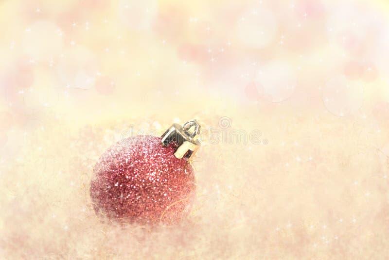 Ρόδινα Χριστούγεννα στοκ φωτογραφία με δικαίωμα ελεύθερης χρήσης