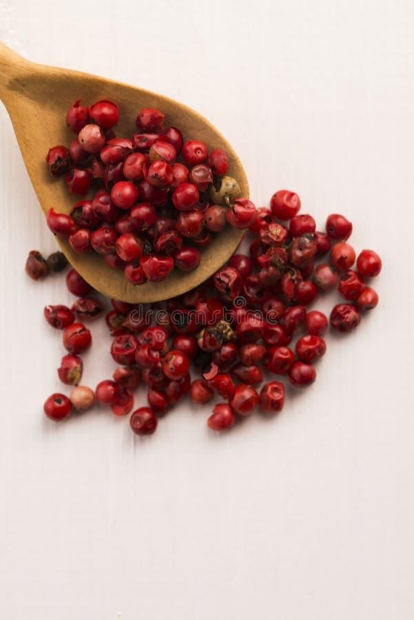 Ρόδινα peppercorns στοκ εικόνα