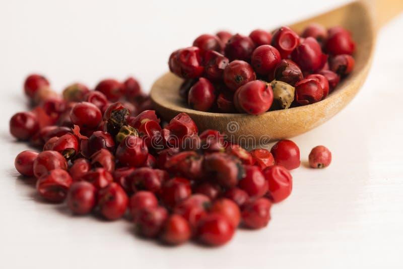 Ρόδινα peppercorns στοκ εικόνες με δικαίωμα ελεύθερης χρήσης