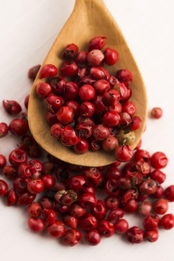 Ρόδινα peppercorns στοκ φωτογραφία με δικαίωμα ελεύθερης χρήσης