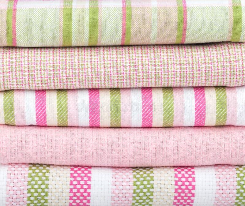 Πετσέτες κουζινών στοκ φωτογραφία