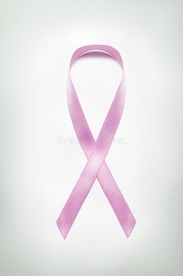 Ρόδινη κορδέλλα συνειδητοποίησης καρκίνου του μαστού στοκ φωτογραφίες