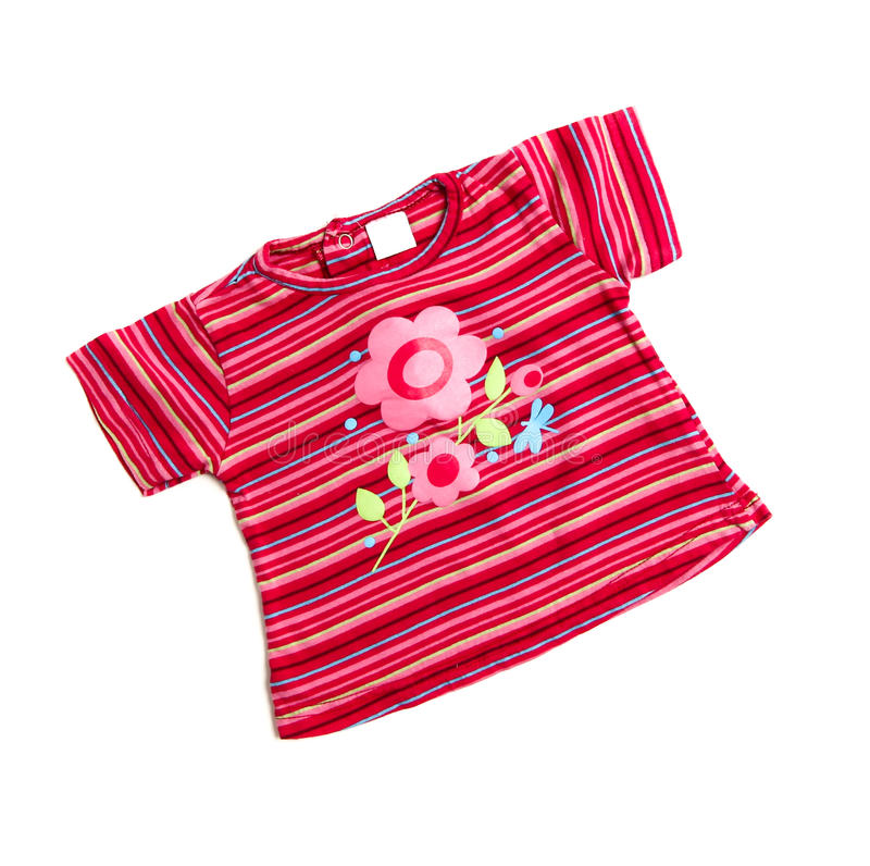 Ρόδινη μπλούζα στοκ φωτογραφία