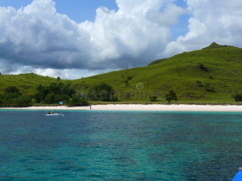 Ρόδινη παραλία στοκ εικόνα με δικαίωμα ελεύθερης χρήσης