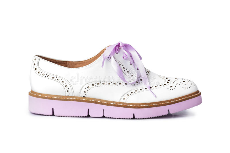 ρόδινο παπούτσι στοκ φωτογραφία