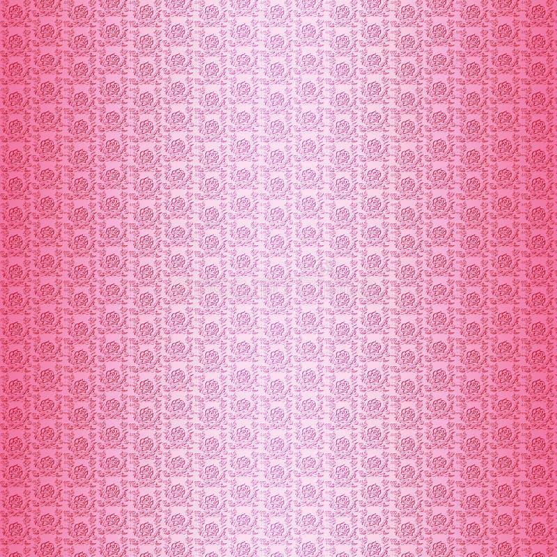 Ρόδινο υπόβαθρο σχεδίων τριαντάφυλλων στοκ εικόνες