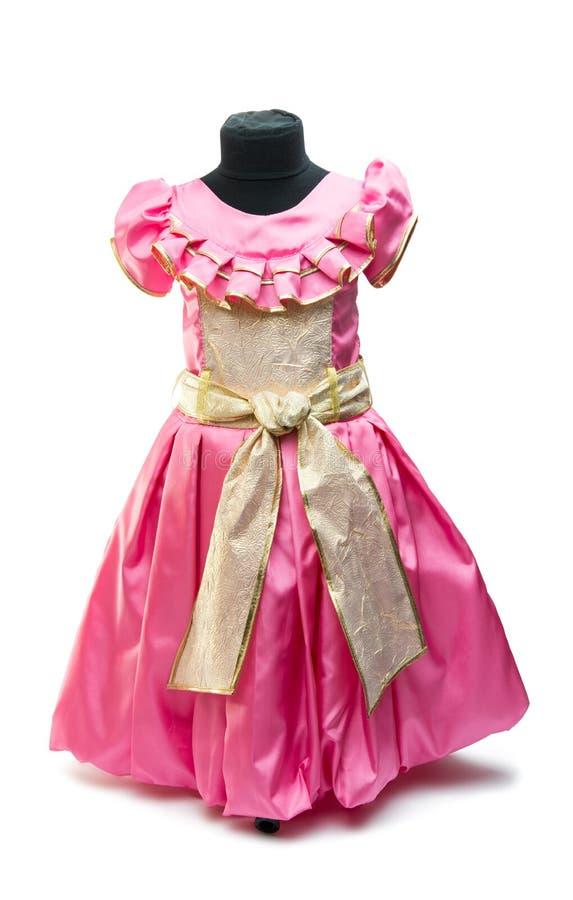 Ρόδινο φόρεμα μωρών στοκ φωτογραφία με δικαίωμα ελεύθερης χρήσης