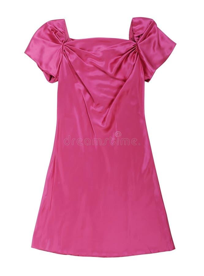 Ρόδινο φόρεμα στοκ εικόνες
