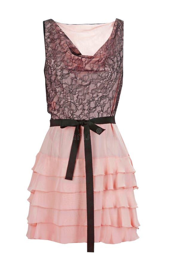 Ρόδινο φόρεμα στοκ εικόνα