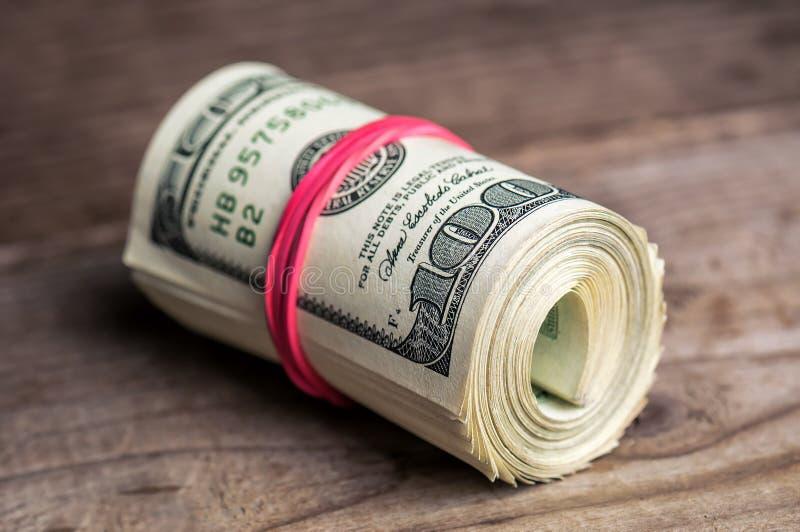 Ρόλος των δολαρίων στοκ εικόνα με δικαίωμα ελεύθερης χρήσης