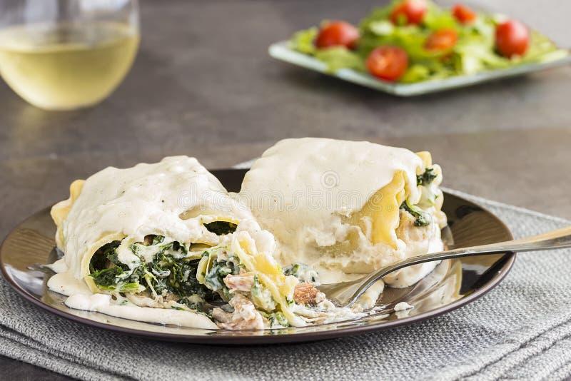 Ρόλος Lasagna χοιρινού κρέατος Kalua στοκ εικόνα