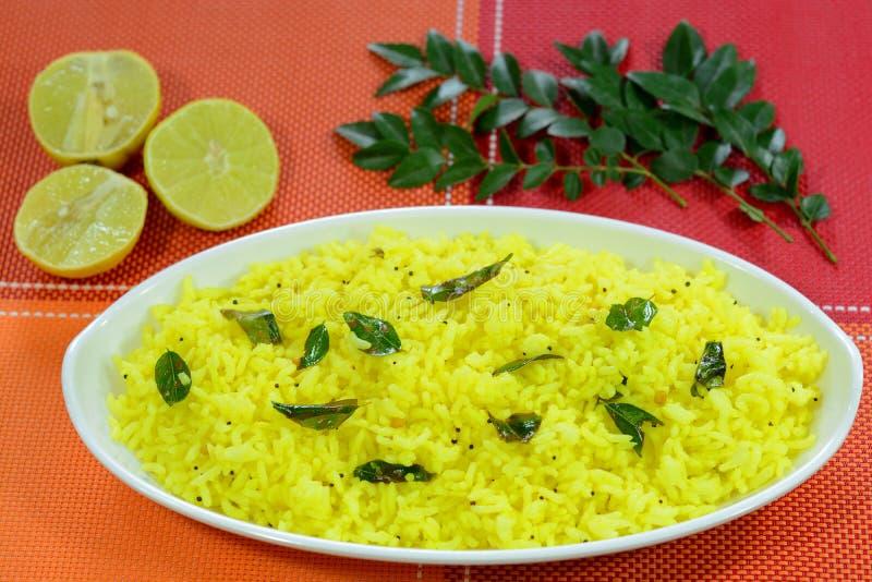 Ρύζι λεμονιών στοκ φωτογραφία με δικαίωμα ελεύθερης χρήσης