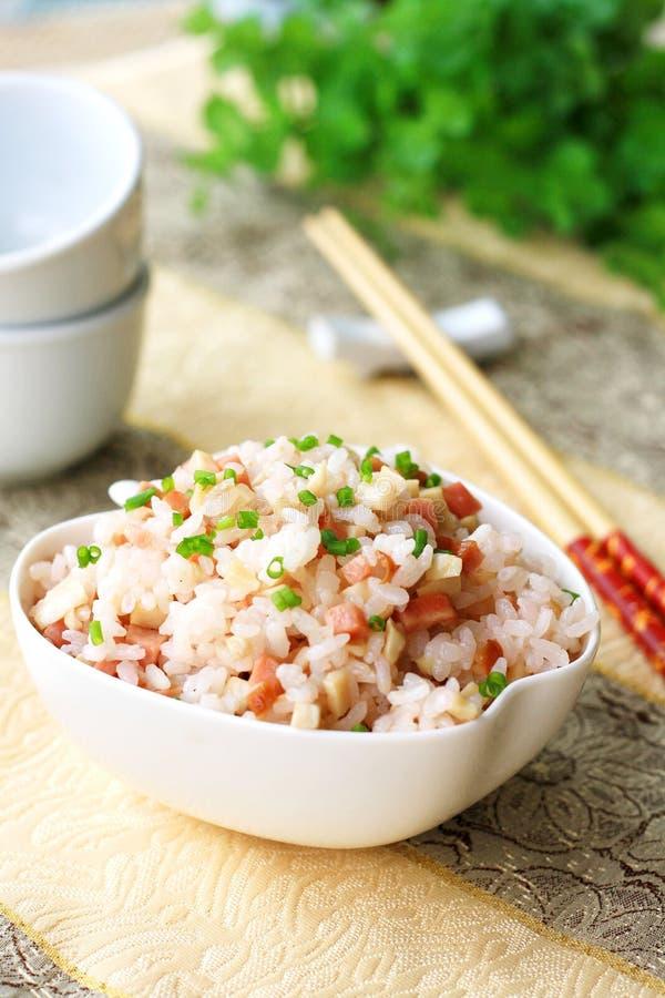 ρύζι ζαμπόν στοκ εικόνες με δικαίωμα ελεύθερης χρήσης