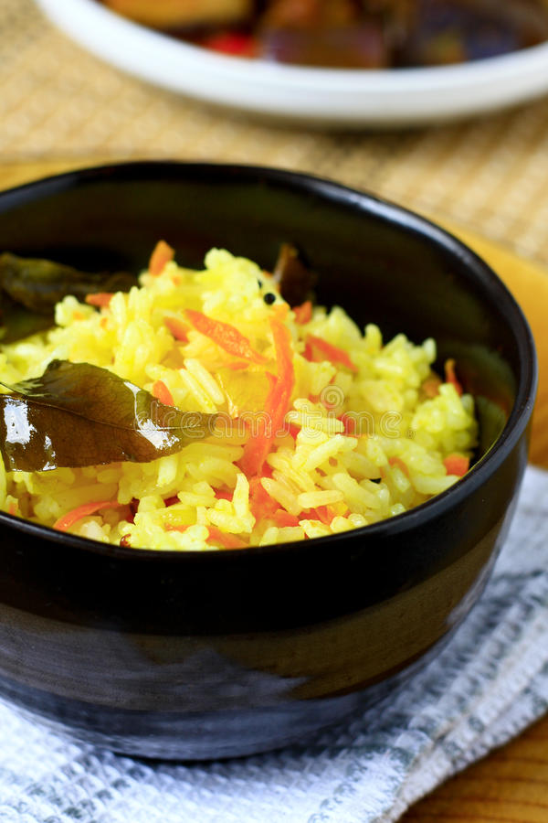 Ρύζι καρότων στοκ εικόνες με δικαίωμα ελεύθερης χρήσης