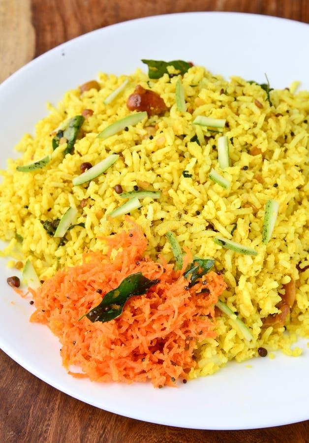 Ρύζι μάγκο στοκ εικόνα